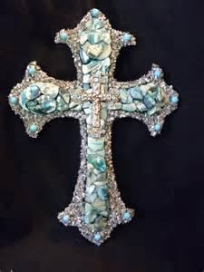 Mosaic Wall Crosses