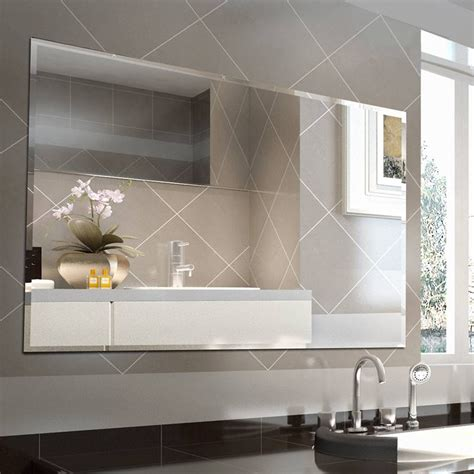 20 best collection of bevelled bathroom mirrors
