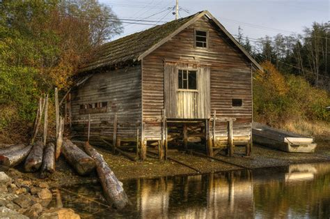 boat shed sointula boat shed digital by darryl luscombe