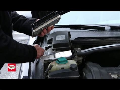 volvo engine control module ecm removal procedure