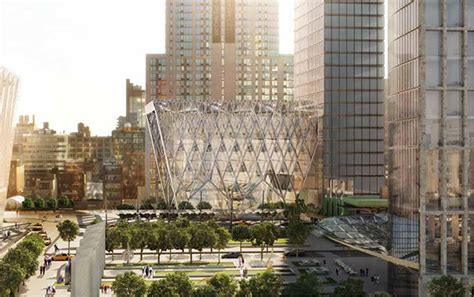Culture Shed Hudson Yards by Culture Shed New York Hudson Yards Nyc