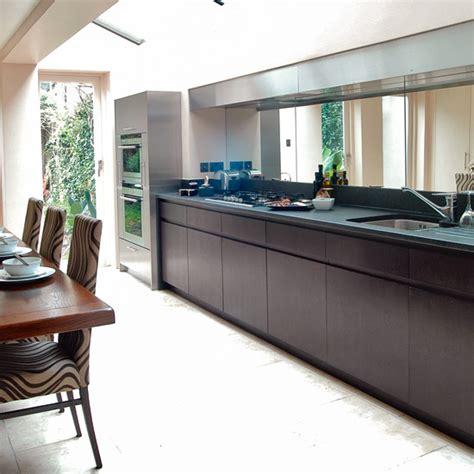 galley kitchen extension ideas galley kitchen design ideas ideal home 3700