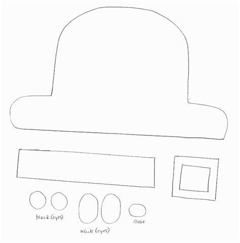 leprechaun hat template paper crafts templates st patricks day crafts print your leprechaun template at