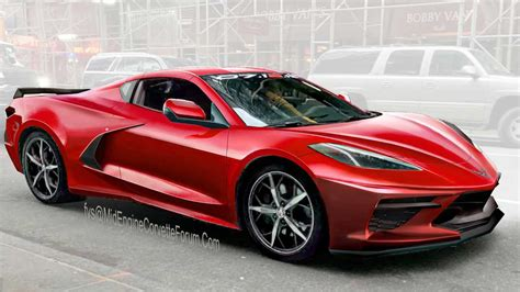 Mid-engined C8 Corvette Rendering Might Reveal The Final
