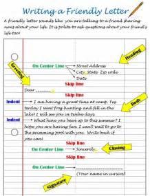 Printable Friendly Letter Format