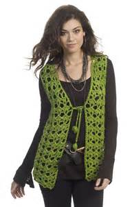 Mary-Kate Vest Crochet Pattern