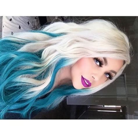 50 Awesome Blue Ombre Hair Color Ideas Youll Love To Try