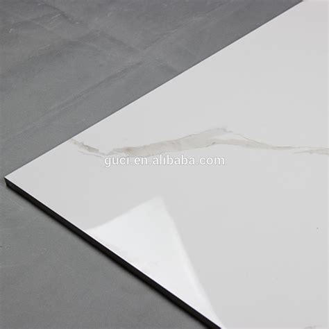 bedroom white cheap polished marble look porcelain tile