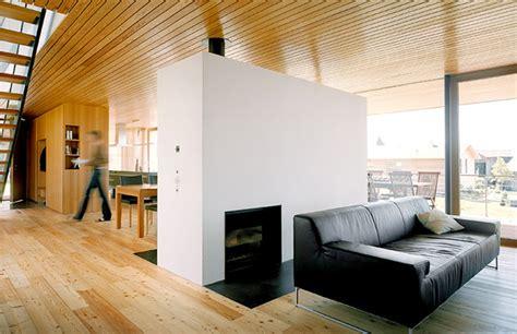 austria wooden houses wood clad    modern