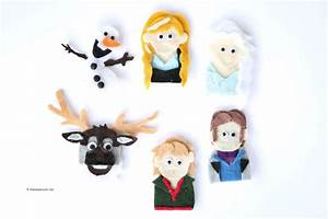 Frozen Finger Puppet Patterns The Idea Room