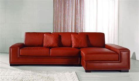 Contemporary Leather Corner Sofas by Tassonne Leather Corner Sofa Contemporary Style