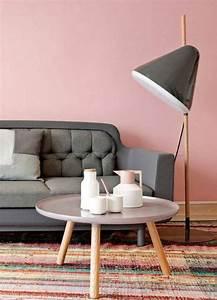 Canapé Rose Pale : la decoraci n de interior en color rosa palo es tendencia absoluta decomanitas ~ Teatrodelosmanantiales.com Idées de Décoration