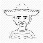 Hispanic Icon Race Human Mexican Nationality Icons
