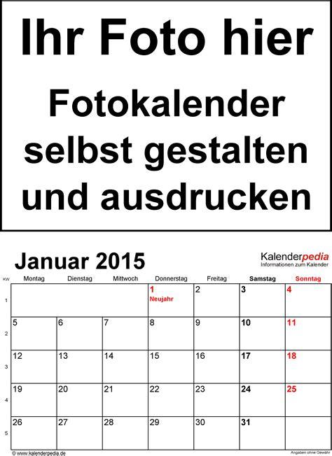 kalender gestalten seimado