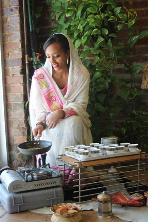 harrar coffee hosts ethiopian coffee ceremony