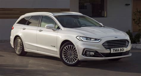 2020 Ford Mondeo Facelift Unveiled With Wagon Hybrid