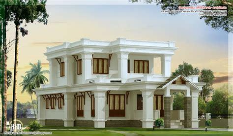 villa house plans 2300 sq flat roof villa design house design plans