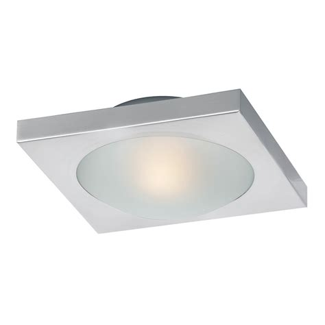 single bulb flush mount light buy the e53830 09sn led piccolo 1 light led flush wall