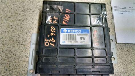 old car repair manuals 2005 hyundai xg350 instrument cluster used engine control module ecm for sale for a 2005 hyundai xg350 partsmarket