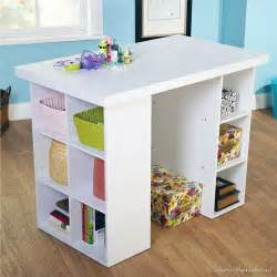 walmart kitchen island craft tables you can buy instead of diy infarrantly creative