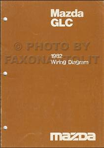 1982 Mazda Glc Repair Shop Manual Original