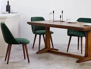 Chaise Velours Design : chaise en velours l 39 atout chic de la salle manger joli place ~ Teatrodelosmanantiales.com Idées de Décoration