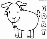 Goat Coloring Pages Print Animal Colorings sketch template