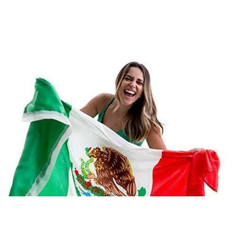 Mexico Flag Bandera De Mexico Mexican Flag 3x5 Body Flag ...