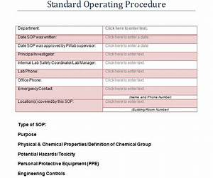 37 best standard operating procedure sop templates for Information technology procedure template