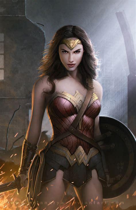 Wonder Woman By Erlanarya On Deviantart
