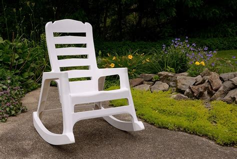 rock steady wins for stackable rocking chair
