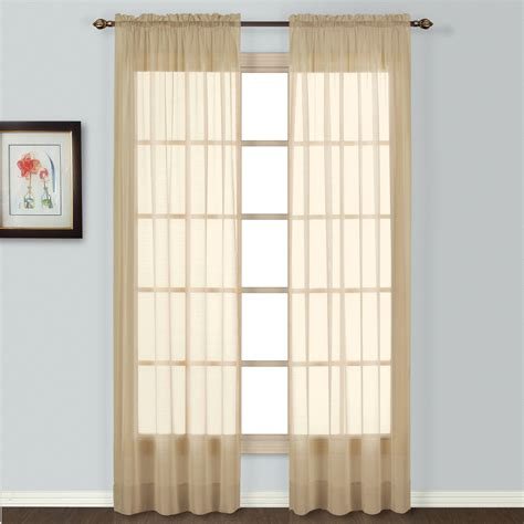Kmart White Sheer Curtains by United Curtain Company Batiste 84 Quot Sheer Window Panel
