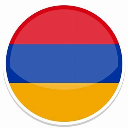 Armenia Icon Round Icons Flags Custom Flag