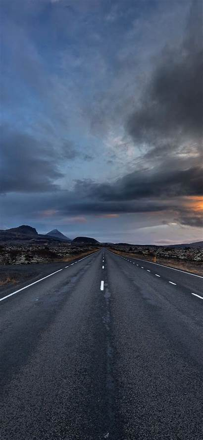 Road Empty Cloudy Resolution Wallpapers Nature 4k