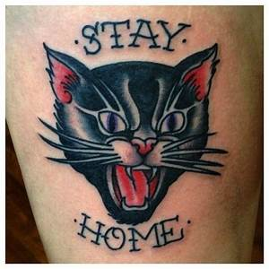 black cat tattoo - Google Search   Lovely images art and ...