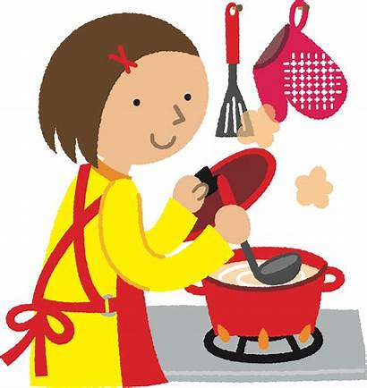 Cooking Clipart Chef Cook Woman Clip Cartoon