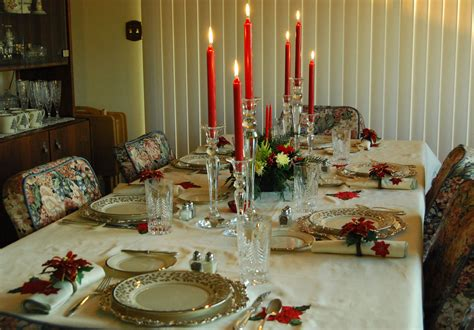 holiday table setting centerpiece ideas for christmas