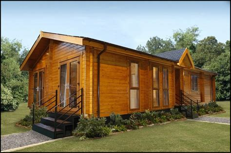 Log Home Style Mobile Homes Contemporarylogliving - Kelsey