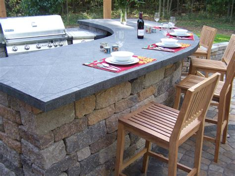 outdoor bar tops outdoor living the brickyard