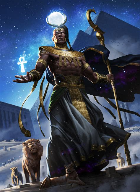 ArtStation - Egyptian Mythology, Nuit Blanche