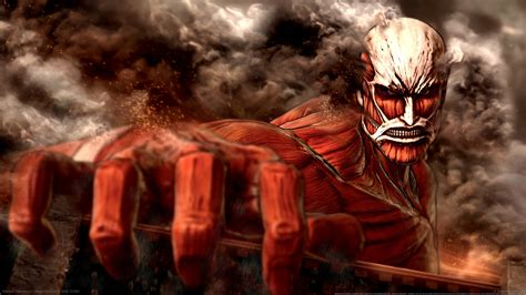 game character shingeki  kyojin titan hd wallpaper