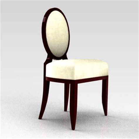 oval x back chair 3d model formfonts 3d models textures