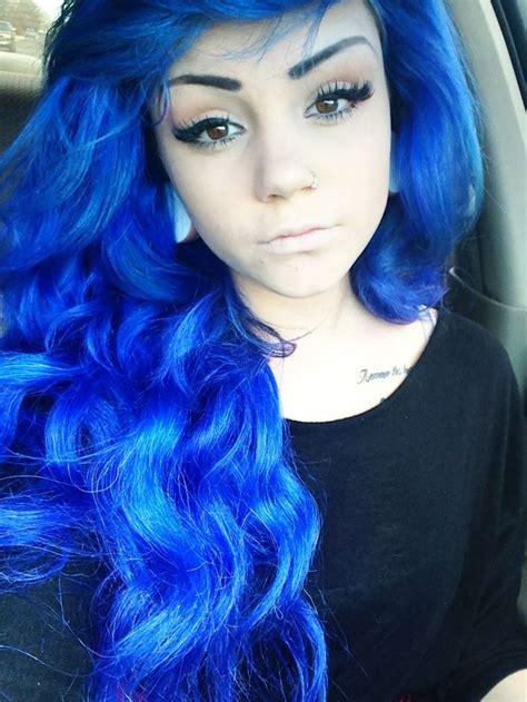 hair styles amazing electric blue hair hair colors ideas of hair color 1809