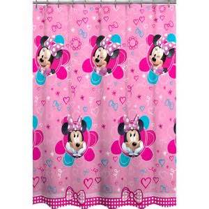 minnie mouse decorative bath collection shower curtain