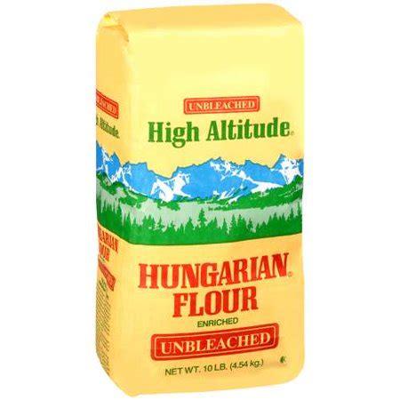 High Altitude Hungarian Enriched Unbleached Flour, 10 Lb