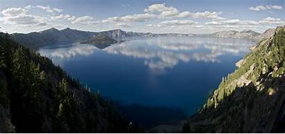 Lake Crater Sunny Wallpapers Oregon Pc
