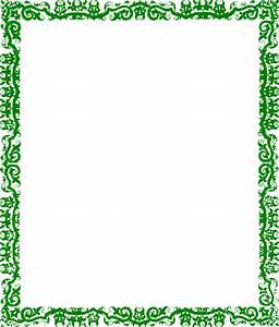 Green Border Design Clip Art at Clker.com - vector clip ...