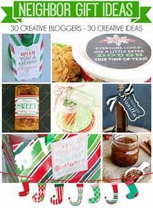 Printable Cookie Dough Holiday Gift Tag + Neighbor Gifts