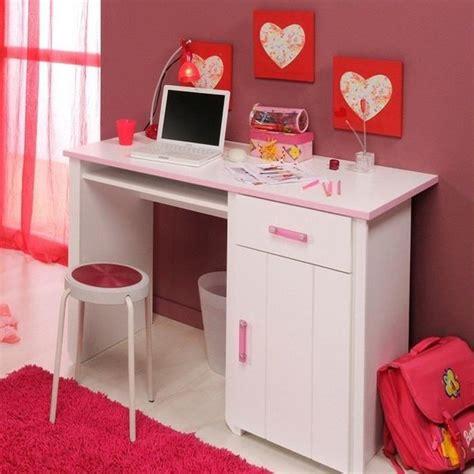 modele de bureau pour fille bureau blanc et pour chambre fille l 121 x h 77 x p