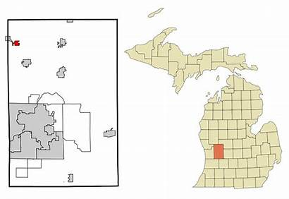 Michigan Kent County Wikipedia Highlighted